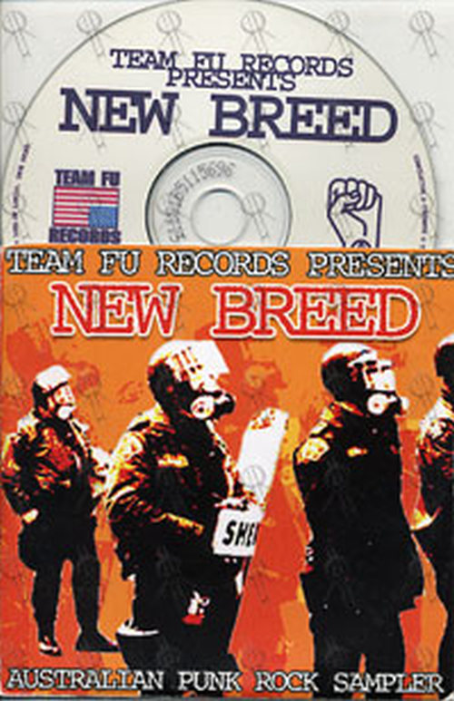 VARIOUS ARTISTS - Team Fu Records Presents New Breed: Australian Punk Rock Sampler - 1