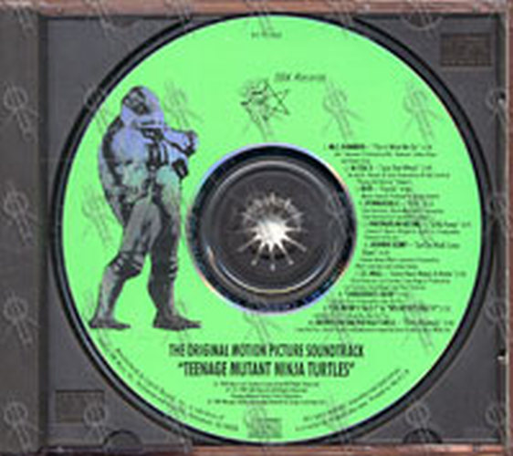 Various Artists Teenage Mutant Ninja Turtles Album Cd