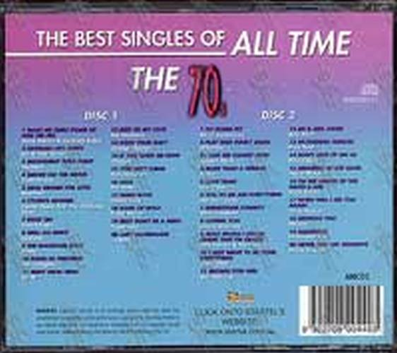 Various Artists The Best Singles Of All Time The 70s