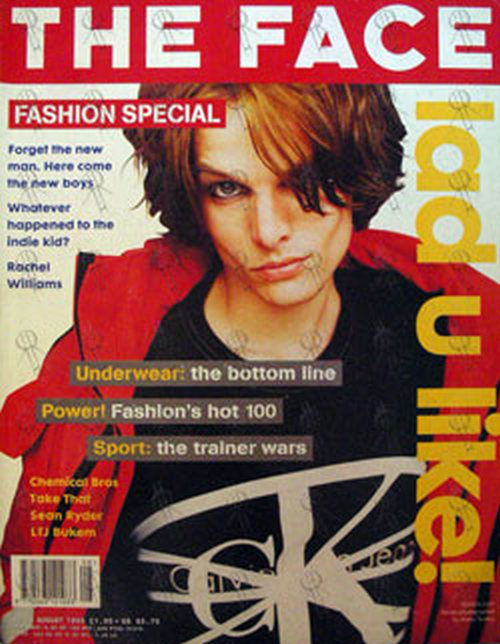 VARIOUS ARTISTS - 'The Face' - August 1995 - No. 83 - Fashion Special - Stevee On Front Cover - 1