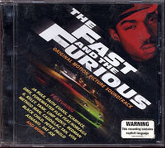 VARIOUS ARTISTS - The Fast And The Furious Original Motion Picture Soundtrack - 1
