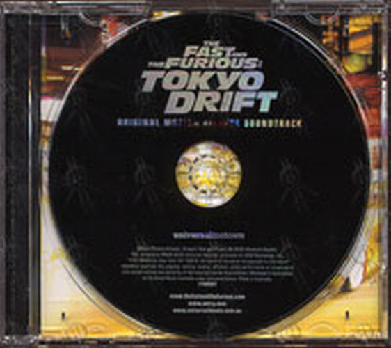 various artists the fast and the furious tokyo drift album cd rare records. Black Bedroom Furniture Sets. Home Design Ideas
