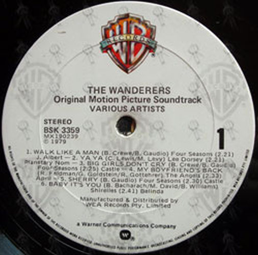 Various Artists The Wanderers Album Cd Rare Records