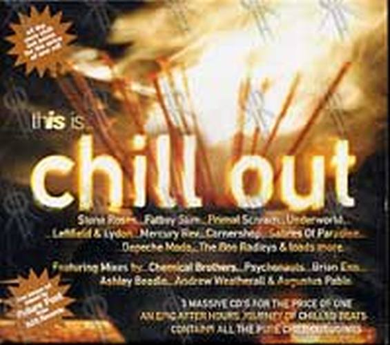 Various Artists This Is Chill Out Album Cd Rare