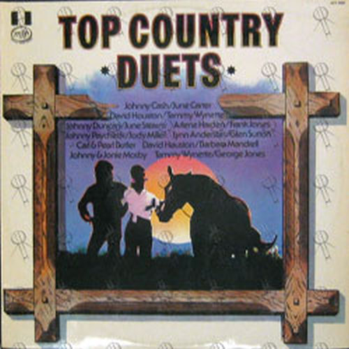 VARIOUS ARTISTS - Top Country Duets - 1