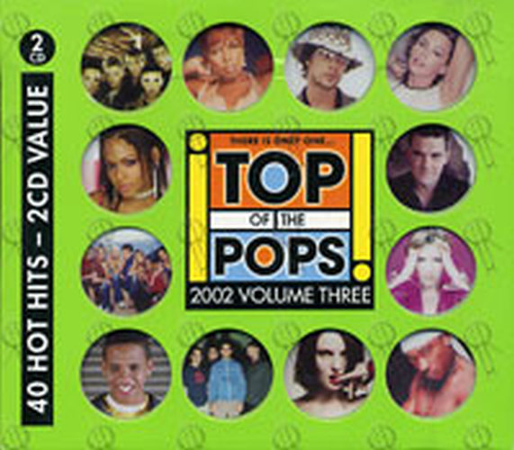 Various Artists Top Of The Pops 2002 Volume Three