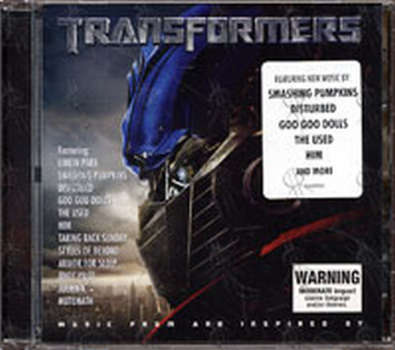 VARIOUS ARTISTS - Transformers The Album - 1