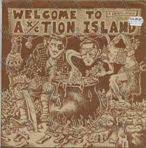 VARIOUS ARTISTS - Welcome To Ax/ction Island - 1
