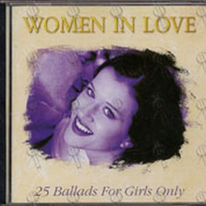 VARIOUS ARTISTS - Women In Love: 25 Ballads For Girls Only - 1
