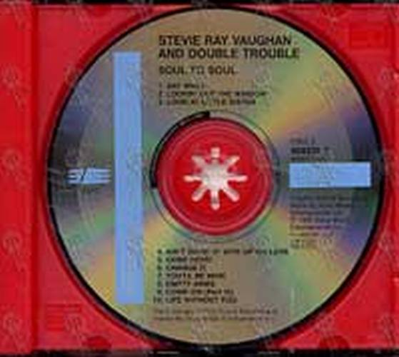 VAUGHAN-- STEVIE RAY AND DOUBLE TROUBLE - Soul To Soul - 3