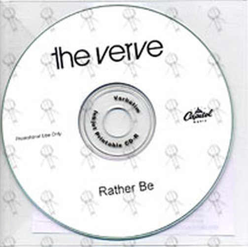 VERVE-- THE - Rather Be - 1