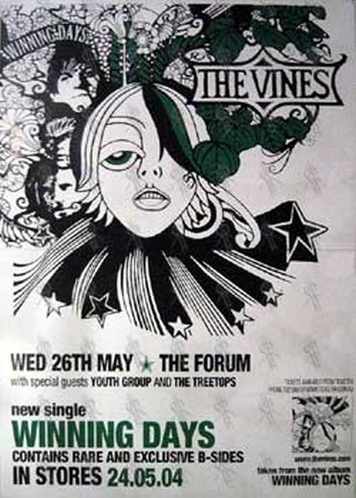 Vines The The Forum Wed 26th May Show Winning Days