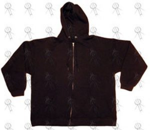 VISION STREET WEAR - Black Zip-Up Hoodie - 1