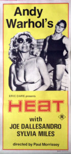 WARHOL-- ANDY - 'Heat' Daybill - 1