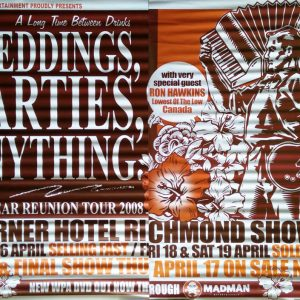 WEDDINGS PARTIES ANYTHING - Corner Hotel