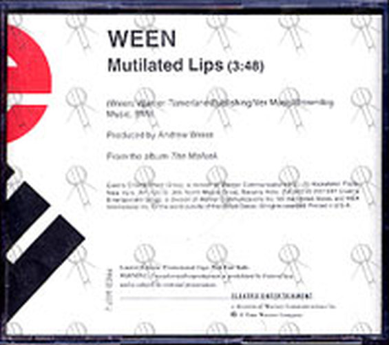 Ween Mutilated Lips Cd Single Ep Rare Records
