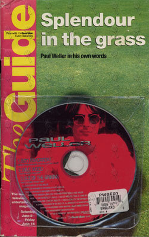 WELLER-- PAUL - 'The Guide' - June 1996 - Paul Wellar On Cover - 1