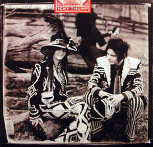 """WHITE STRIPES-- THE - 'Icky Thump' 12"""" Flat - 1"""