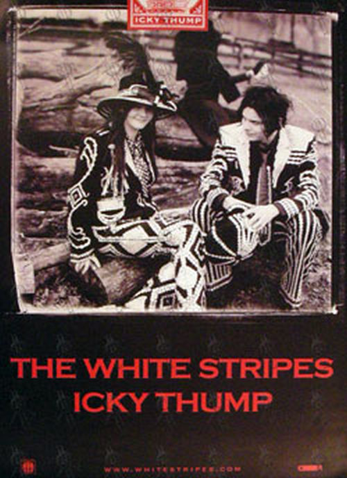 WHITE STRIPES-- THE - Large 'Icky Thump' Album Poster - 1