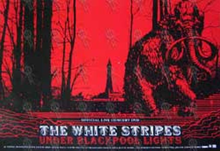 White Stripes The Under Blackpool Lights Mammoth Art