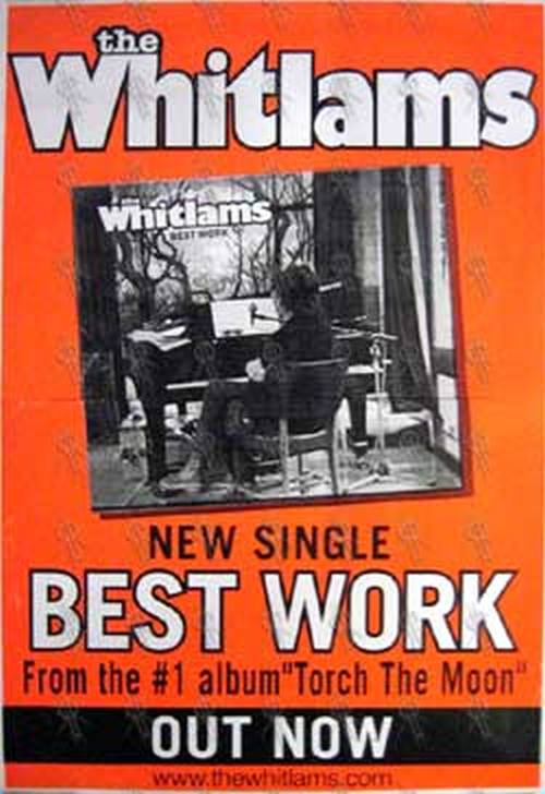 WHITLAMS-- THE - 'Best Work' Single Poster - 1