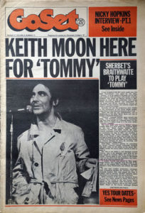 WHO-- THE - 'GoSet' - 17th March 1973 - Volume 8 - Number 11 - Keith Moon On Cover - 1