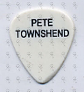 WHO-- THE - Pete Townshend Guitar Pick - 1