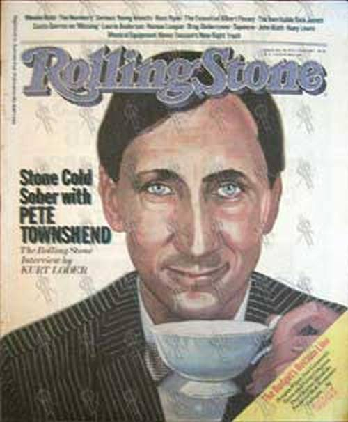 WHO-- THE - 'Rolling Stone' - July 15th 1982 - No. 355 - 1