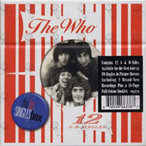 WHO-- THE - The 1st Singles Box - 1