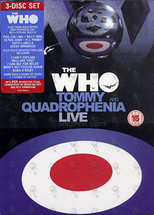 WHO-- THE - Tommy And Quadrophenia Live - 1