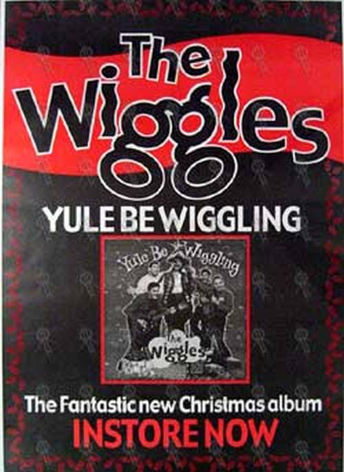 'Yule Be Wiggling' Wiggles Christmas Album Poster