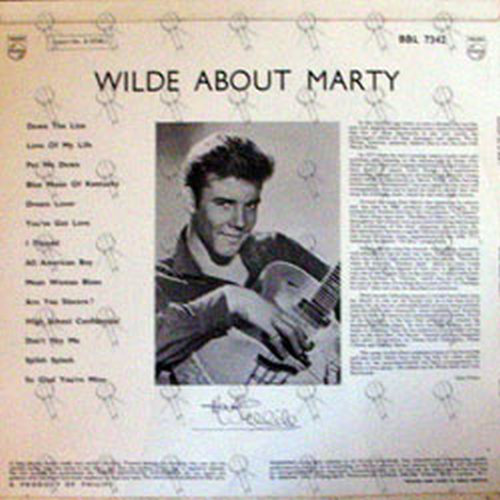 WILDE-- MARTY - Wilde About Marty - 2