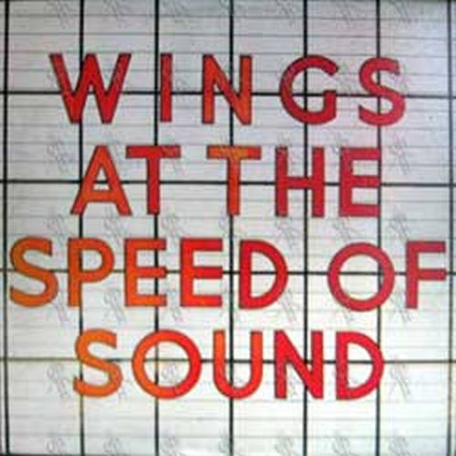 WINGS - At The Speed Of Sound - 1