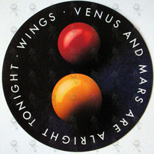wings venus and mars 12 inch lp vinyl rare records
