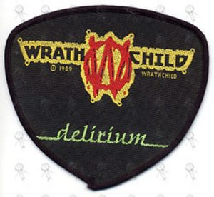 WRATCHCHILD - Embroidered 'Delirium' Logo Patch - 1
