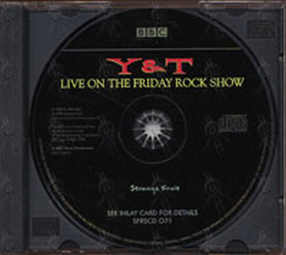 Live on the Friday Rock Show