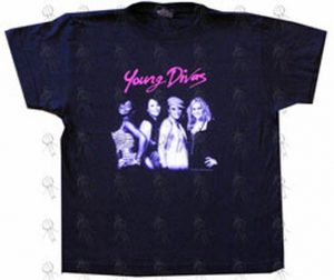 YOUNG DIVAS - Navy Blue Girls 2006 Australian Tour T-Shirt - 1
