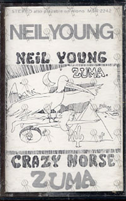 Young Neil Amp Crazyhorse Zuma Audio Tapes Rare Records
