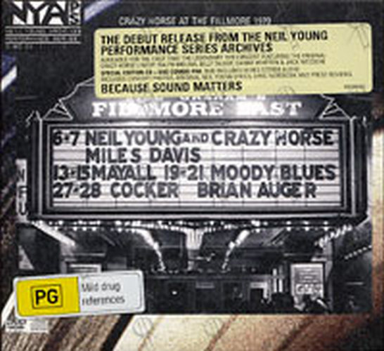 YOUNG-- NEIL - Live At The Fillmore East - 1