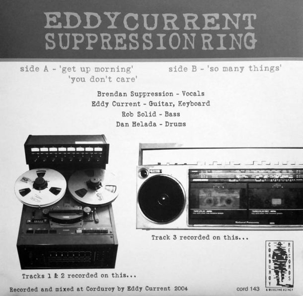 Eddy Current Suppression Ring Tour