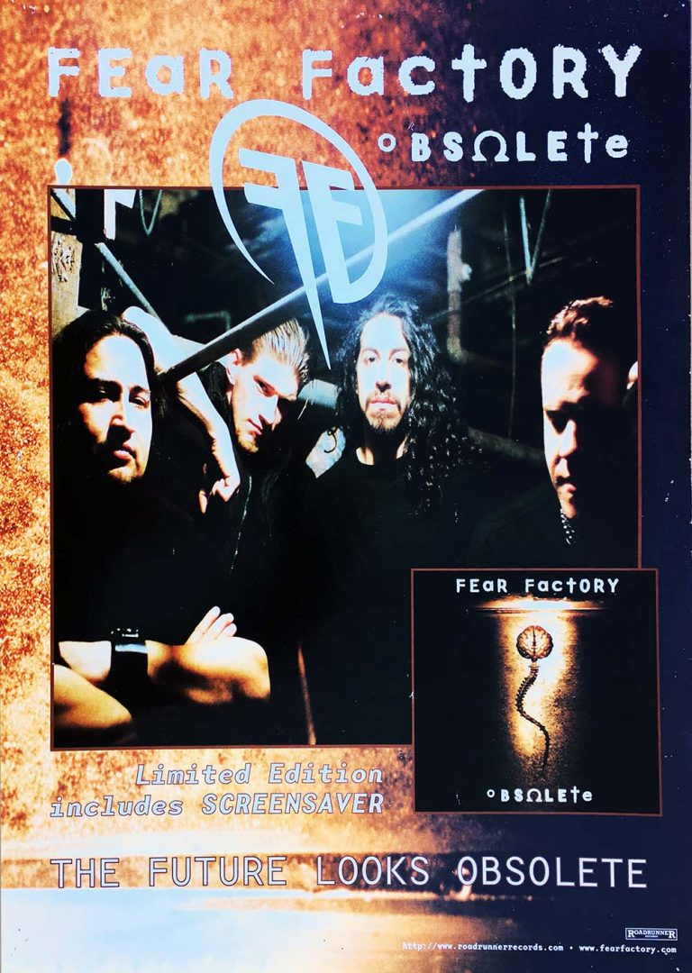 Obsolete Album Promo Band Image Poster