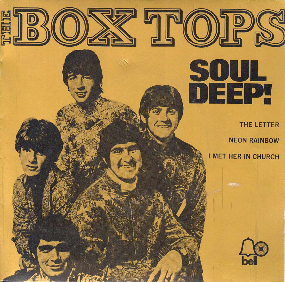 BOX TOPS THE Soul Deep The Letter 7 Inch Vinyl