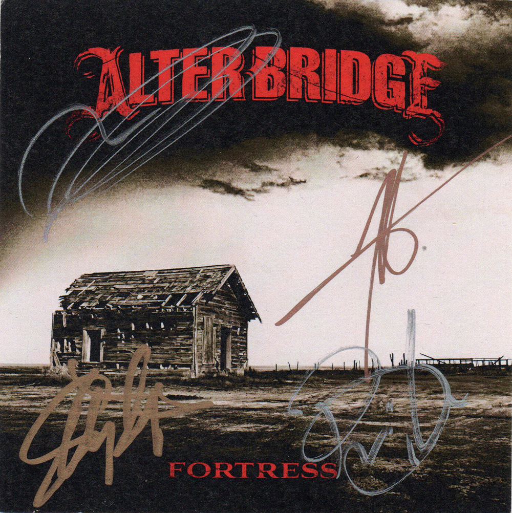 Alter Bridge Fortress Cd Slick Miscellaneous Other