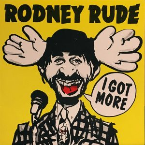 Rude Rodney Iraq Off Tour Wed 31 Oct Gig Poster