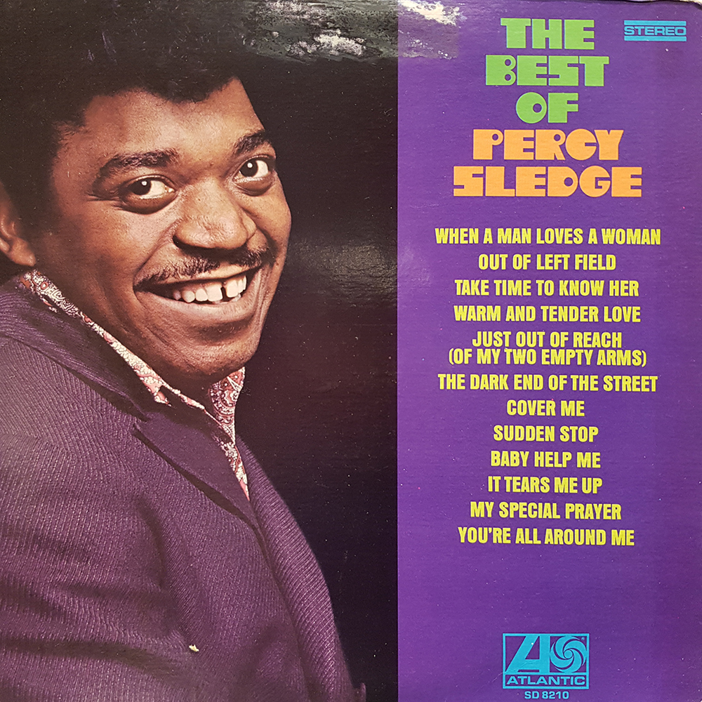 Sledge Percy The Best Of Percy Sledge 12 Inch Lp